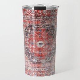 N62 - Vintage Farmhouse Rustic Traditional Moroccan Style Artwork Travel Mug