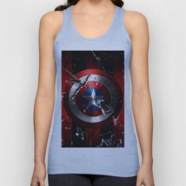 Captain Roger Shield Unisex Tank Top