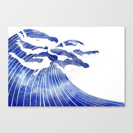 Seven Nereids Canvas Print
