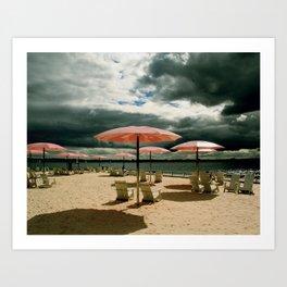 Sugar Beach Art Print