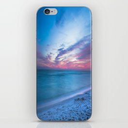 If By Sea - Sunset and Emerald Waters Near Destin Florida iPhone Skin