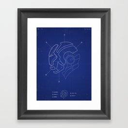 Heroes Are Built Framed Art Print