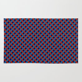 3D Red Blue Stereo Vision Rug