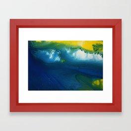 Estuary Entrance Framed Art Print