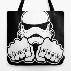 Dark Side Knuckle Tote Bag