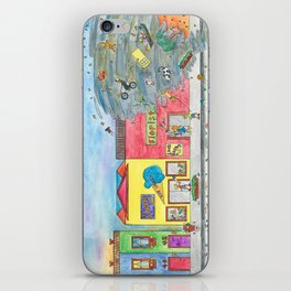 Happy Town V iPhone Skin