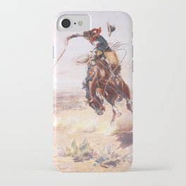 A bad hoss iPhone Case