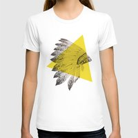 headdress T-shirts featuring headdress by morgan kendall