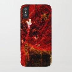 Astral flower iPhone X Slim Case