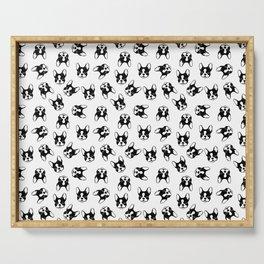 French bulldog pattern Serving Tray