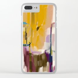 Traveler Among the Spires Clear iPhone Case