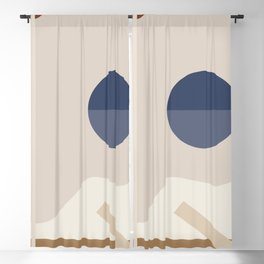 Geometric Abstract 116 Blackout Curtain