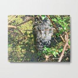The Big Gator Metal Print