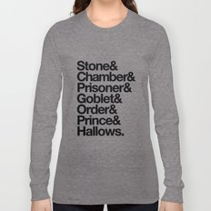 Stone & Chamber & Prisoner & Goblet & Order & Prince & Hallows Long Sleeve T-shirt