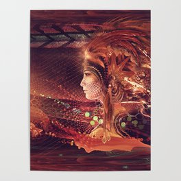 Shadow of a Thousand Lives - Visionary - Manafold Art Poster