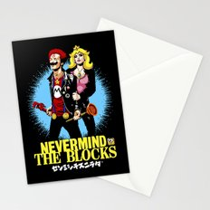 Never Mind the Blocks Stationery Cards