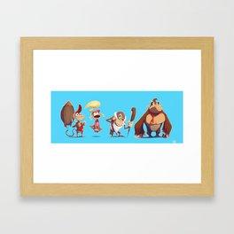 Kongs Framed Art Print