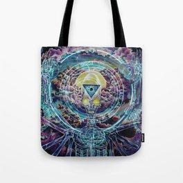 Promethean....Conversations with a god Tote Bag