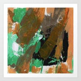Abstract Expression No. 17 Art Print