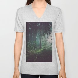 Magical Forest Unisex V-Neck