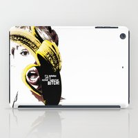 miley cyrus iPad Cases featuring Miley Cyrus  by franziskooo