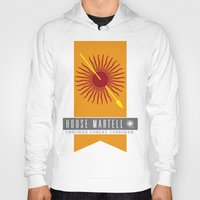 martell Hoodies featuring House Martell Sigil by P3RF3KT