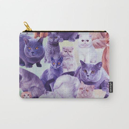 cats portrait Carry-All Pouch
