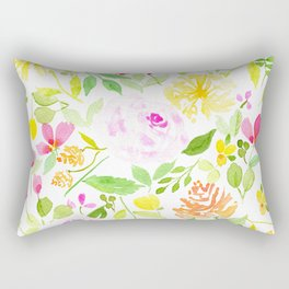 Spring Mix Alot Rectangular Pillow