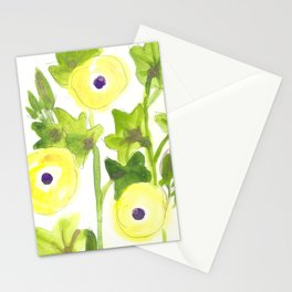 Okra Blossoms Stationery Cards