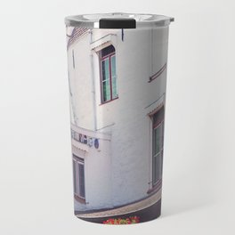 Clogs on the Wall Travel Mug