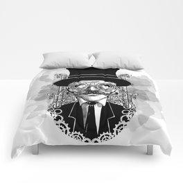 Steampunk Man Comforters
