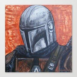 Space Helmet Guy Canvas Print
