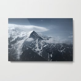 Mont Blanc collection - Flying Metal Print