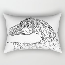 Doodle Arabian Rectangular Pillow