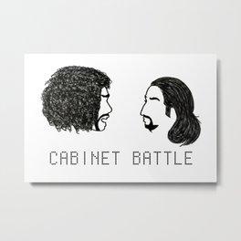 Jefferson Hamilton Cabinet Battle Metal Print