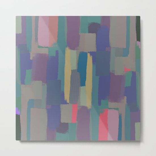 Abstract Painting II Metal Print