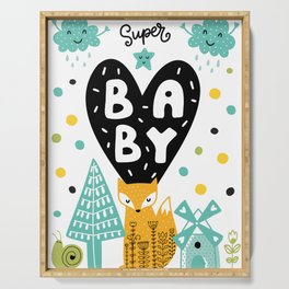 Super Star Baby Serving Tray