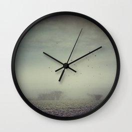 Misty Fields Wall Clock