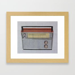 Transistor Framed Art Print