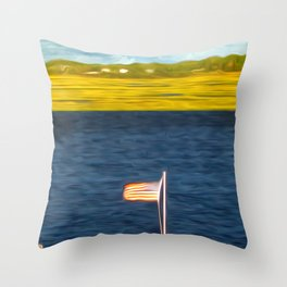 This American Sound Throw Pillow