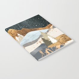 Winter Stars Notebook