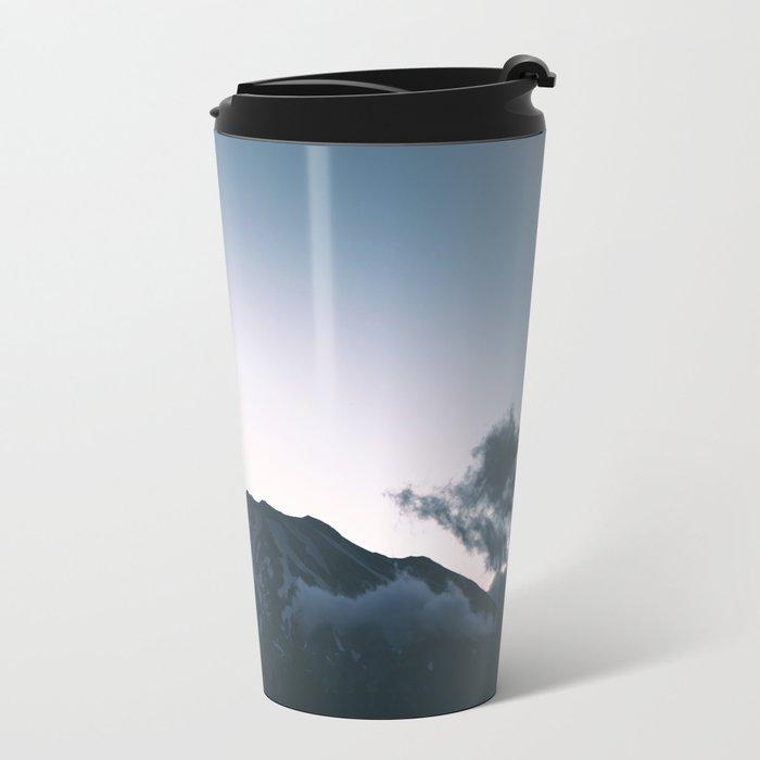 Mount Saint Helens II Metal Travel Mug