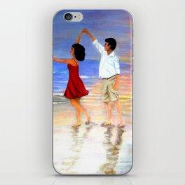 Dancing at the Beach iPhone Skin