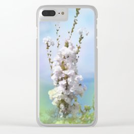 dreamy pastel flowers -7- Clear iPhone Case
