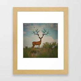 Demi God Framed Art Print