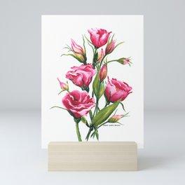 Pink Lisianthus Mini Art Print