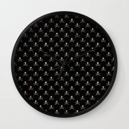 Skulls Mini Wall Clock
