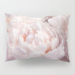 Floral Photography | Peony Pink Cluster | Flowers | Botanical | Plant Pillow Sham