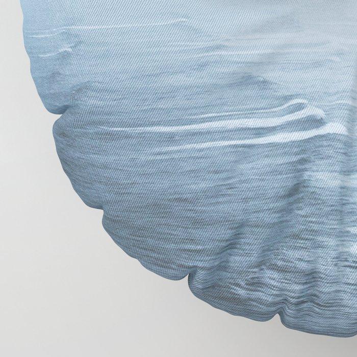 Storms over the Pacific Ocean Floor Pillow