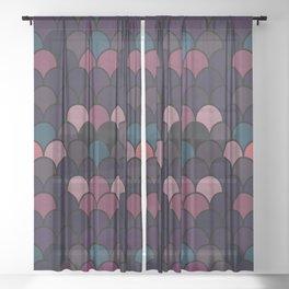 Mermaids #1 Sheer Curtain